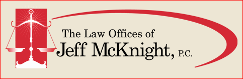 LAW OFFICES OF JEFF MCKNIGHT LOGO