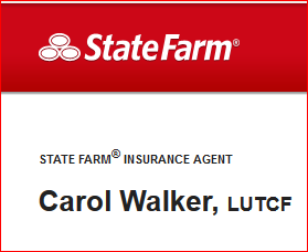 STATE FARM INSURANCE CAROL WALKER LOGO