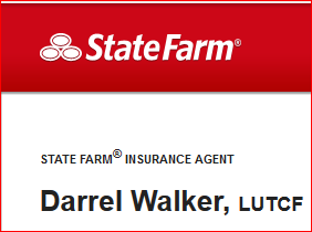 STATE FARM INSURANCE DARREL WALKER LOGO